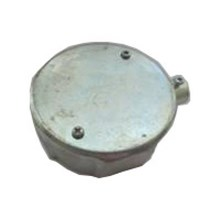 Circular Surface Box  1 way-steel