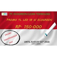Promo Independence Day Lampu Tl Led Ecogreen 18 Watt