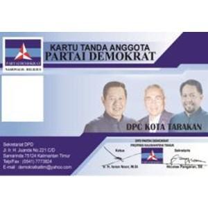 Jasa Cetak Kartu Anggota Partai