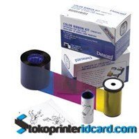 Pita Ribbon Color YMCKT Datacard Part Number : 534000-003