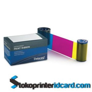 Pita Ribbon Color YMCKT Datacard Part Number : 534000-002