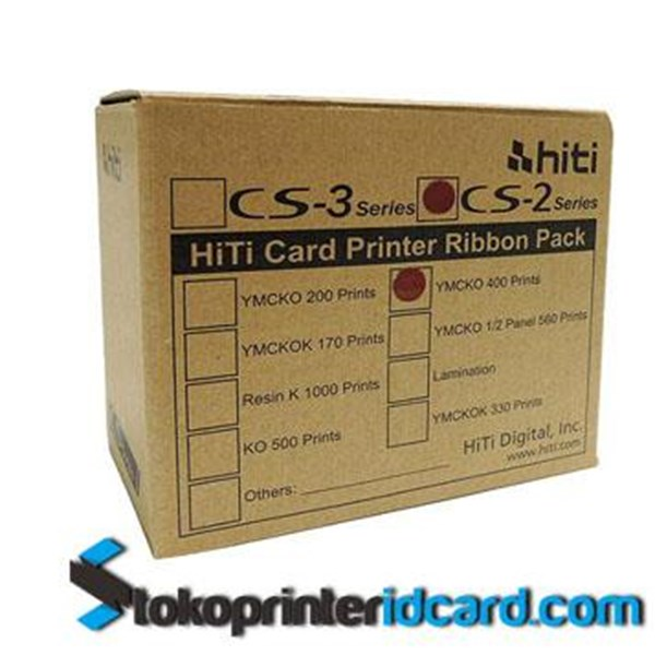Ribbon YMCKO Color Ribbon Hittites CS200e