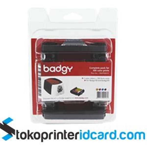 Ribbon Color YMCKO Evolis Badgy – PN: CBGP0001C