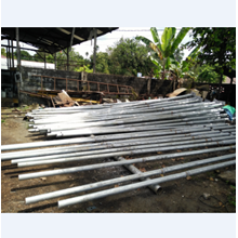 Cable Network Pole