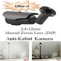 Kamera Acesee Effio-A Anti-Kabut AVTN40HA - 720TVL 2.8-12Mm Manual Zoom Lens