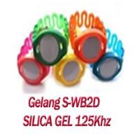S-Wb2d Id Kartu Akses Kontrol Wristband Silica Gel 125Khz