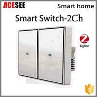 Saklar Smart Home 2 Ch Ssw100c2