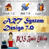 Art System Design Paket Kasir Basic Edisi 7.0