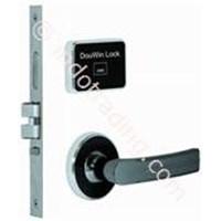 Kunci Pintu Hotel Sistem Kartu Mifare Model Terpisah Plus Anti Api  Dou Win 671Mfsc 1