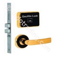 Kunci Pintu Hotel Sistem Kartu Mifare Model Terpisah Plus Anti Api Dou Win 671Mfgc  1