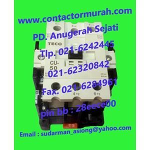 From Contactor type CU50 TECO 0