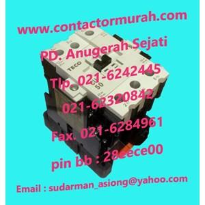 Dari Kontaktor magnetik tipe CU50 TECO 0