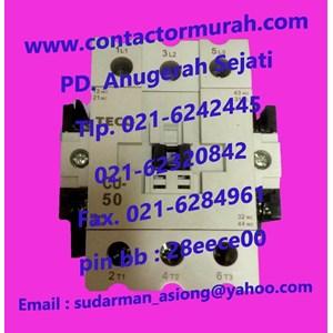 Dari Kontaktor magnetik TECO tipe CU50 1