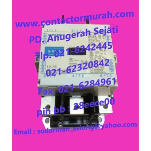 Kontaktor tipe S-N150 magnetik MITSUBISHI
