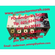 Socomec type 1-0-11 changeover switch 200A