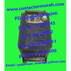 Inverter 9.7A tipe FRNO.75C1S-7A Fuji 1.9kVA