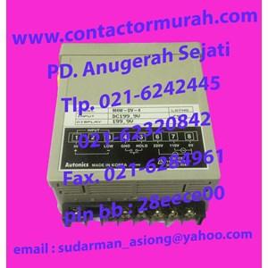 Autonics M4W-DV-4 panel meter 220V