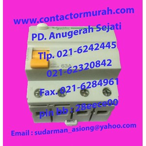 Schneider RCCB 63A tipe DOM16794 Domae
