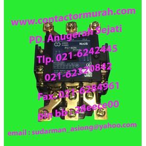 TIPE FC-80N kontaktor 100A NAIS