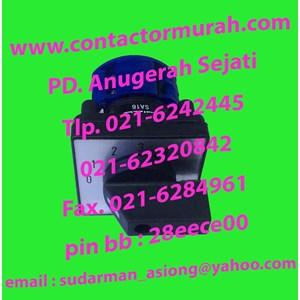 Salzer rotary switch tipe SA16-2-2