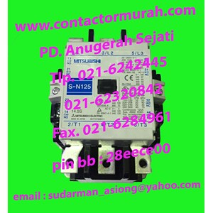 S-N125 kontaktor MITSUBISHI