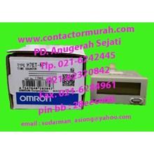 OMRON H7ET-NFV timer counter 24-240VDC
