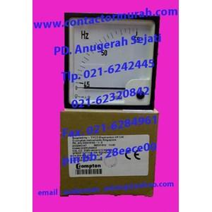 tipe E244415GRNAGAG Crompton Hz meter 220V