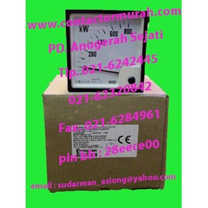 tipe E244214GVC Crompton kW meter 5A