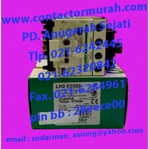 Schneider tipe LR2K0322 overload relay
