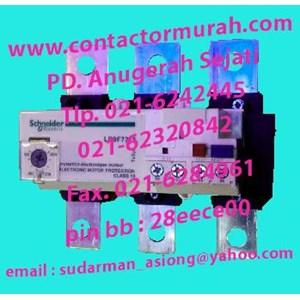 Schneider tipe LR9F7375 overload relay
