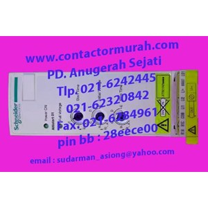 From Schneider soft starter ATS01N222QN 22A 2