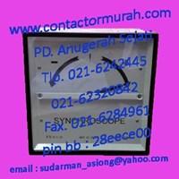 synchronoscope tipe STC144 Circutor 400VAC