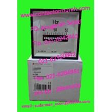 tipe HLC96 frekuensi meter Circutor