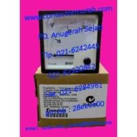 tipe E24301VGNLNL voltmeter Crompton 0-30VDC