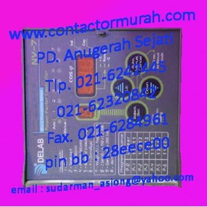 From earth fault relay 240VAC DELAB TM-8200s 1