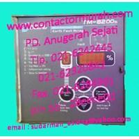 Distributor 240VAC earth fault relay DELAB tipe TM-8200s 3
