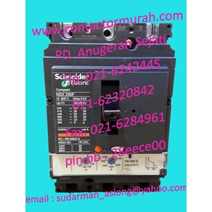 Schneider breaker NSX250F