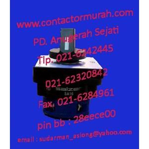 rotary switch salzer tipe SA16 2-1 16A