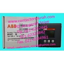 RVC 6 power factor controller ABB 1-5A