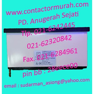Circutor frequency meter HLC144