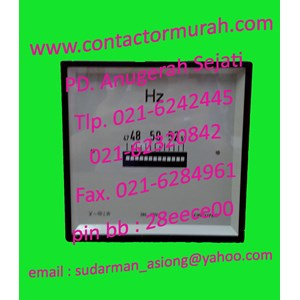 Circutor tipe HLC144 frequency meter