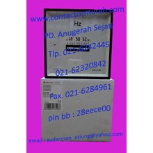 tipe HLC144 Circutor frequency meter