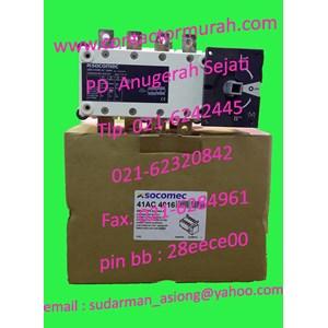 changeover switch 160A Socomec 415V