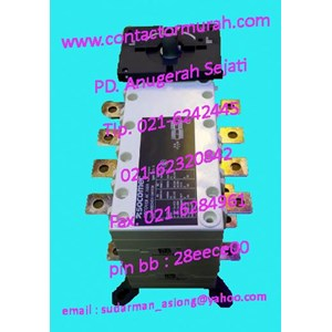 160A changeover switch Socomec tipe 1-0-11 415V