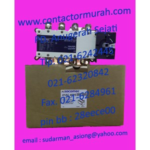 changeover switch Sircover 1-0-1 socomec 250A
