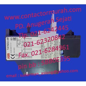 overload relay TA75DU-32M ABB 32A