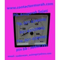 tipe E244-05W-G Crompton volt meter 600VAC