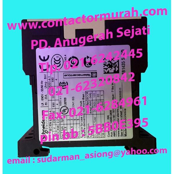 mini kontaktor tipe LP1K0901BD 20A Schneider
