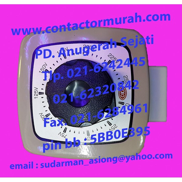 voltage regulator OKI tipe TDGC2-500