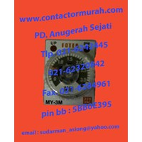 tipe MY-3M-2P relay timer Fotek 1